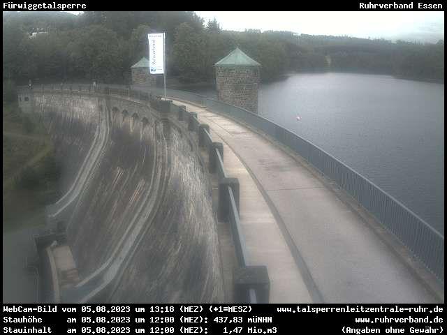 Webcam Sauerland - Fürwiggetalsperre