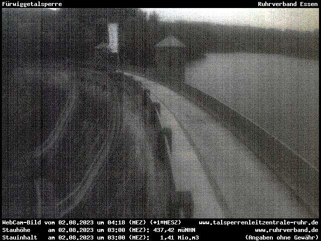 Webcam Märkischer Kreis - Fürwiggetalsperre