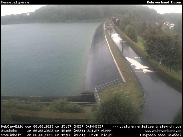 Webcam Sauerland - Hennetalsperre