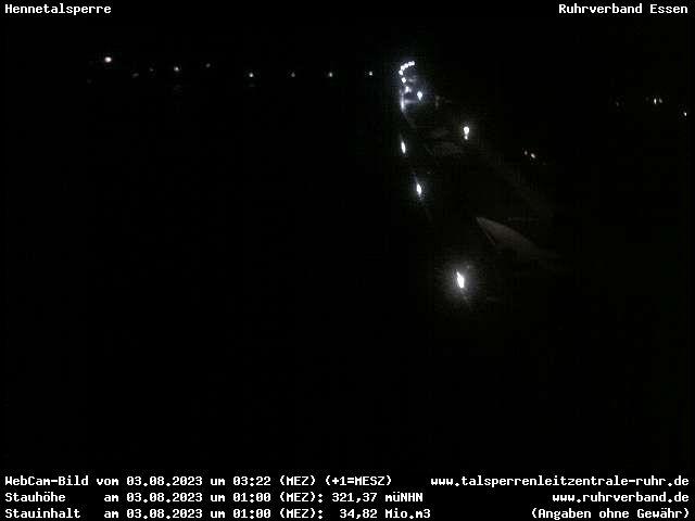 Webcam Meschede - Hennetalsperre