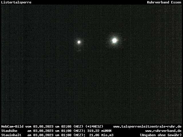 Webcam Sauerland - Listertalsperre