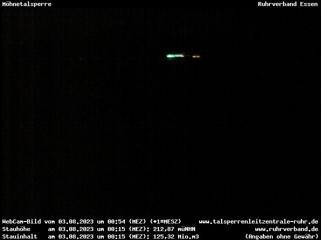 Webcam Kreis Soest - Möhnetalsperre (Mauerkrone)