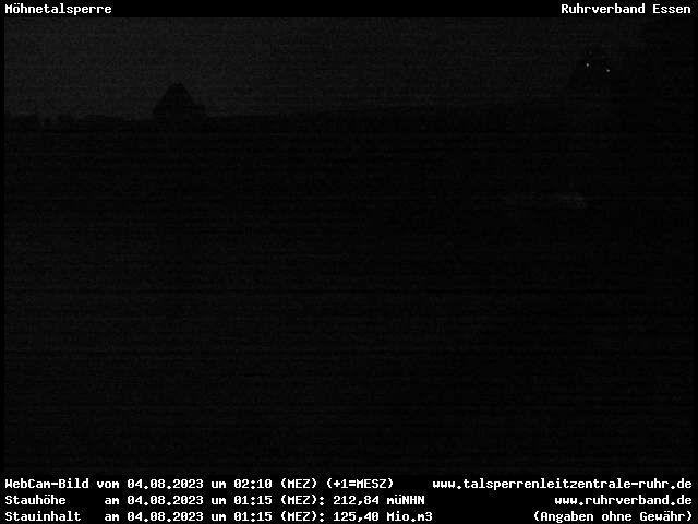 Webcam Sauerland - Möhnetalsperre (Luftseite)