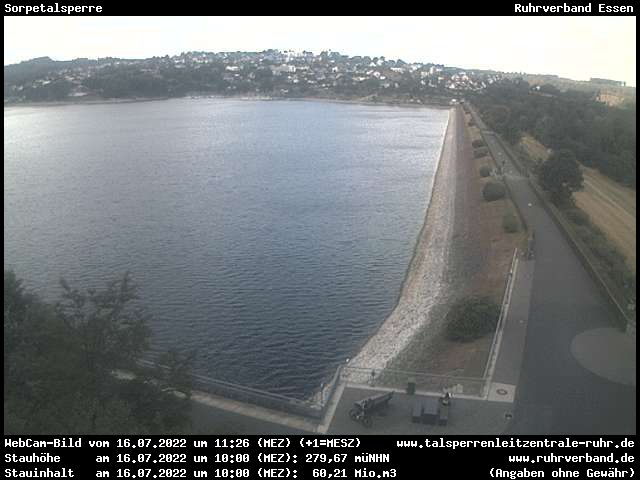 Webcam Sundern - Sorpetalsperre