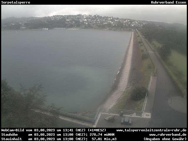 Webcam Sauerland - Sorpetalsperre