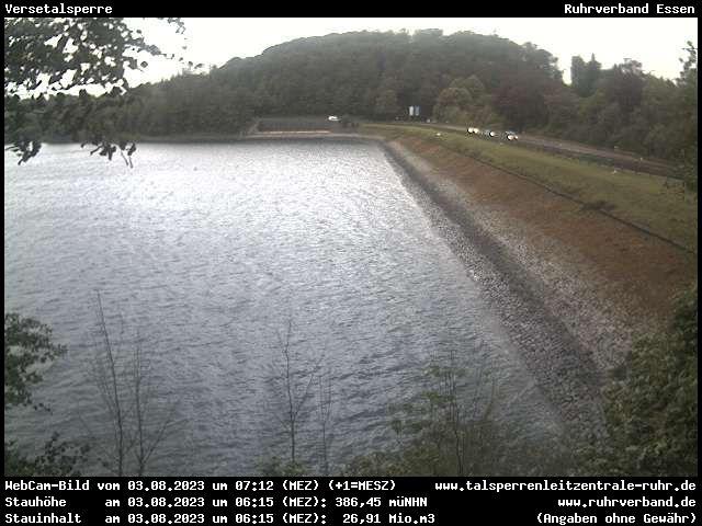 Webcam Sauerland - Versetalsperre